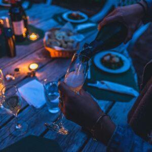 God vin og skål