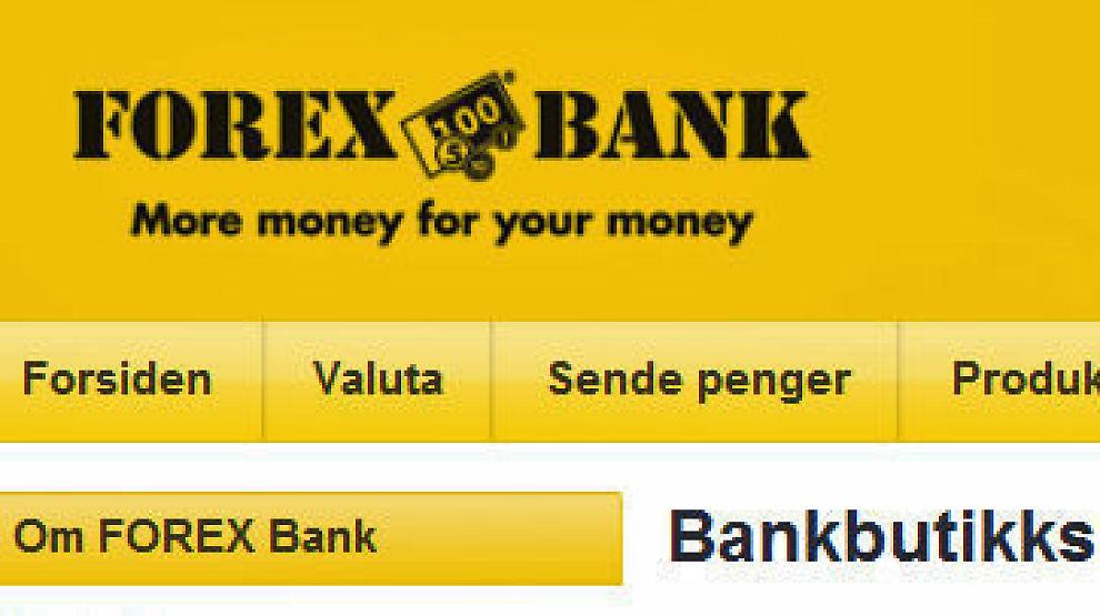 Splitte fra Forex bank