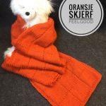 Oranske skjerf Feelgood